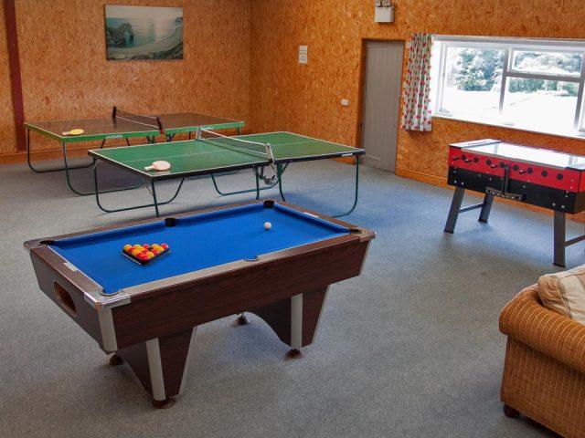 Facilities - Fun games room