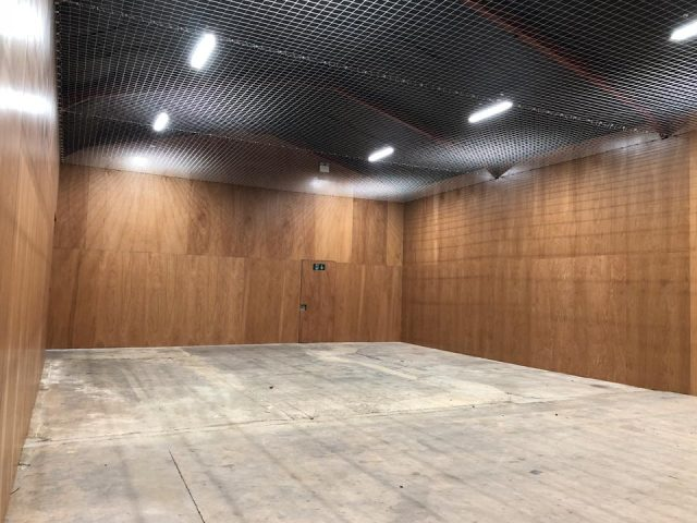 Victor Sports Hall - nearing completion