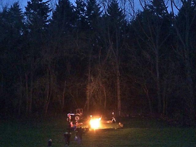 Evenings around the campfire